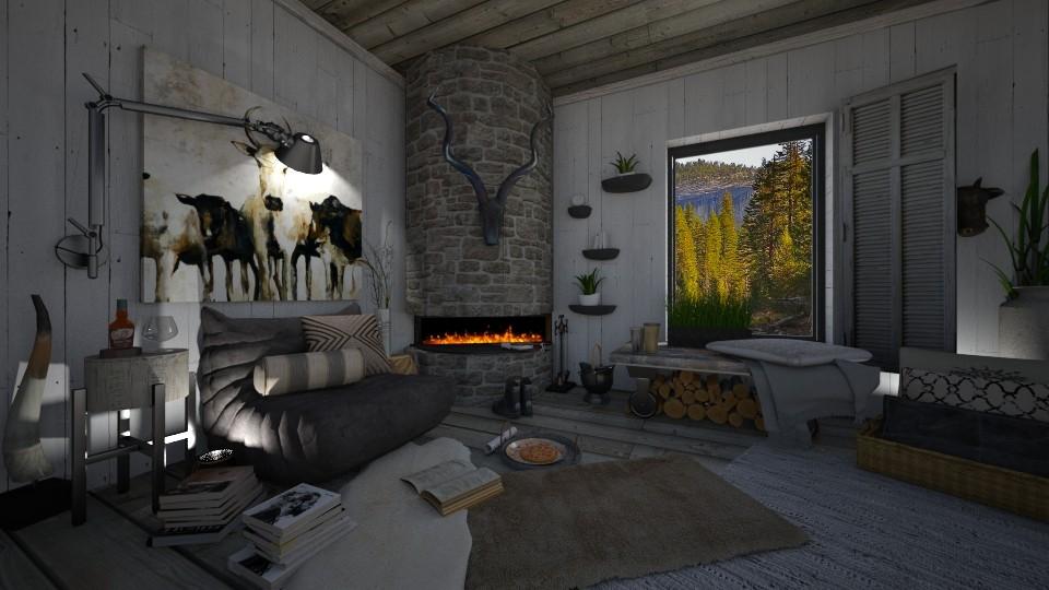 Fireside - by Lackew