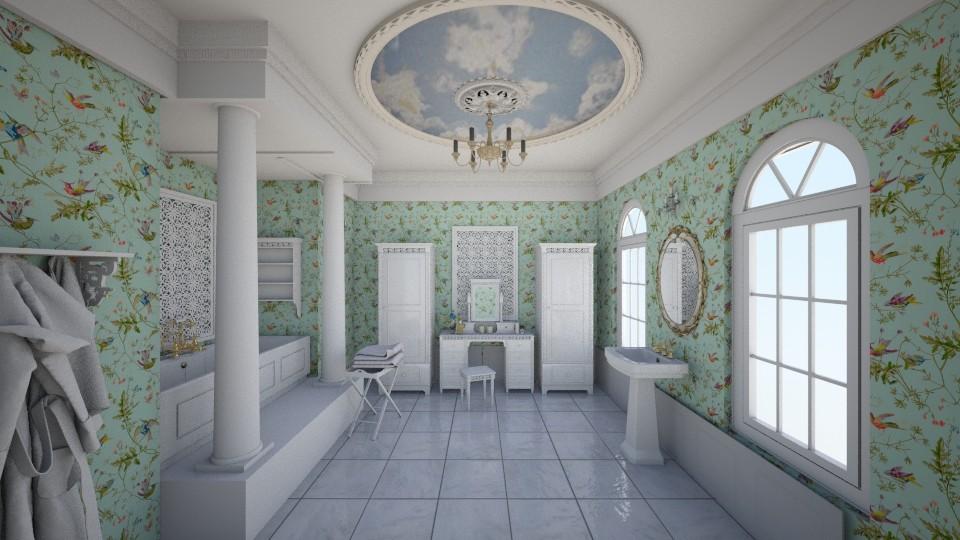 Romantic bathroom - Vintage - Bathroom - by nata_falcon