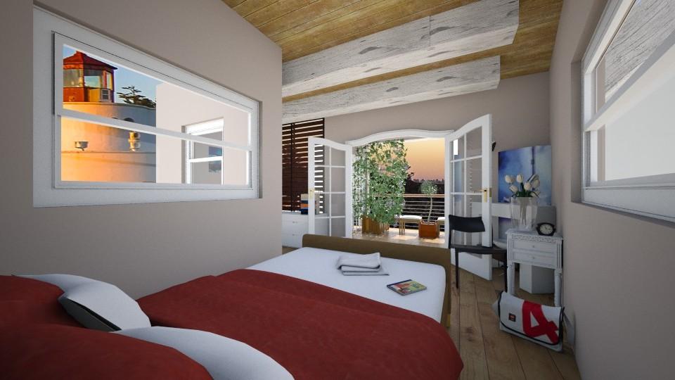 cuarto con balcon - Bedroom - by juan jose ramirez