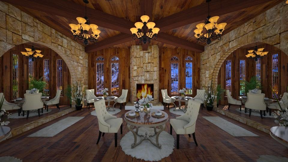 Alpine Dining Romance - by lydiaenderlebell