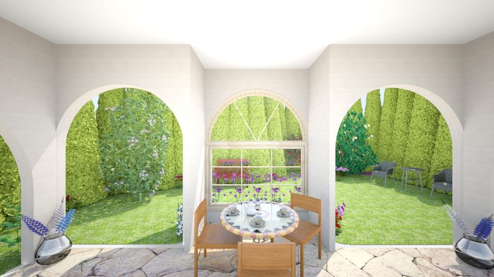 covered patio - Garden - by jtvcoco