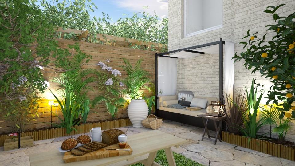 Garden - Garden - by evemorgan96