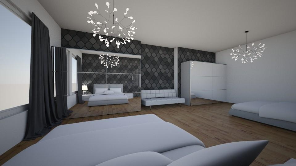00000 - Bedroom - by urskaadrevensek