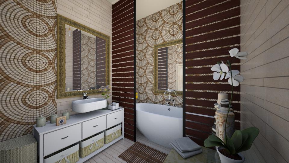 Creme de la creme - Bathroom - by Oshee