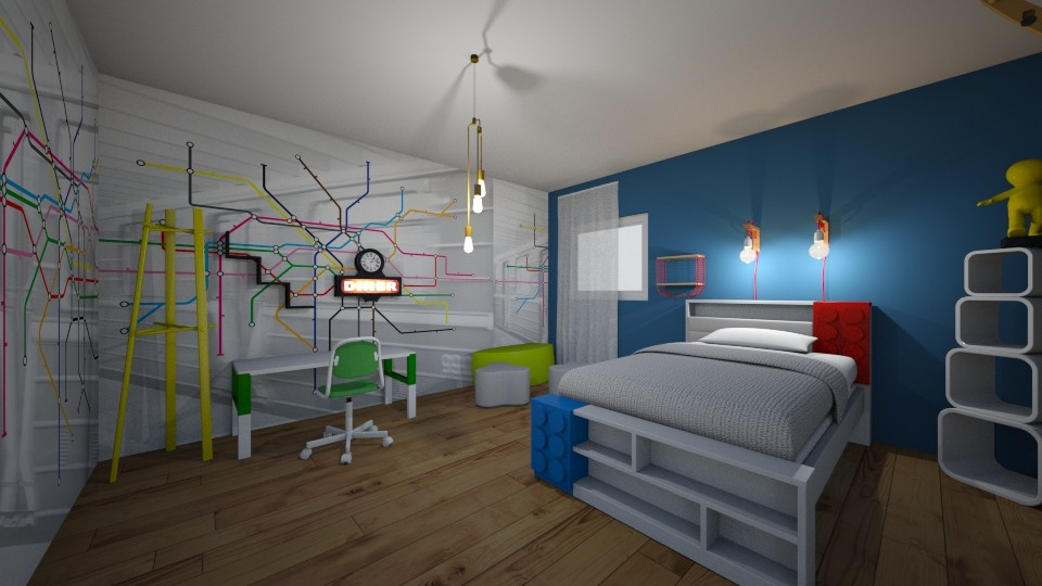 kids room - Modern - by sk disigns