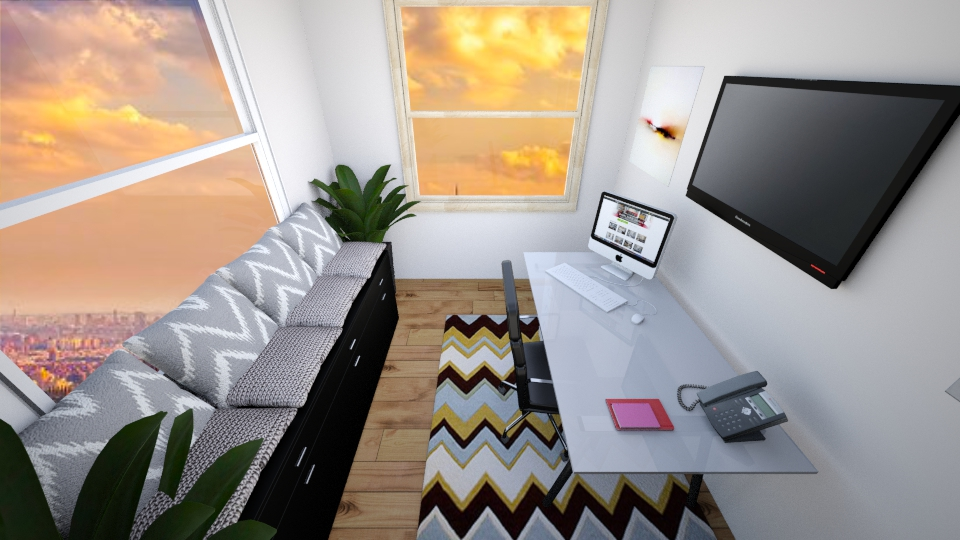 home office - Office - by MilenaTheDesigner