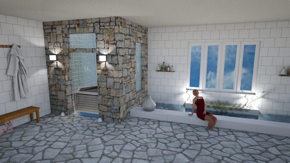 Spa Day - Bathroom - by jdenae3