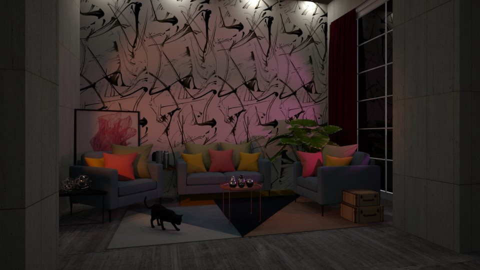 Mess - Living room - by Amorum X
