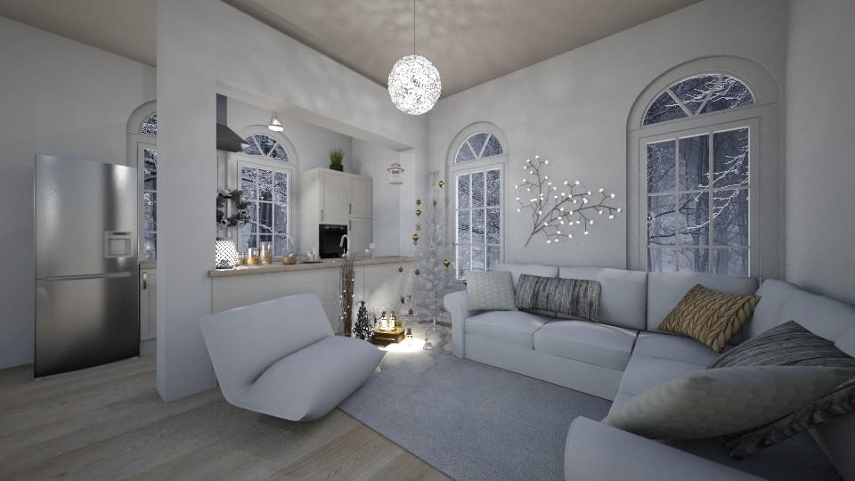xmas white 11 - by libra23