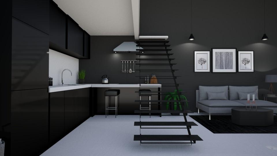 room - Kitchen - by SandraStyff