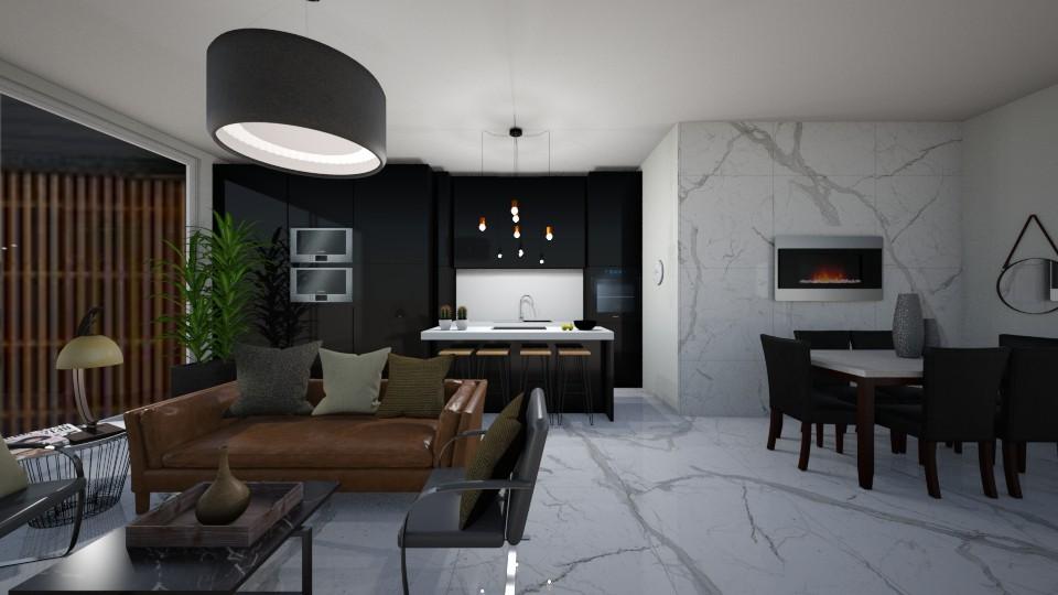 gf - Living room - by reem11