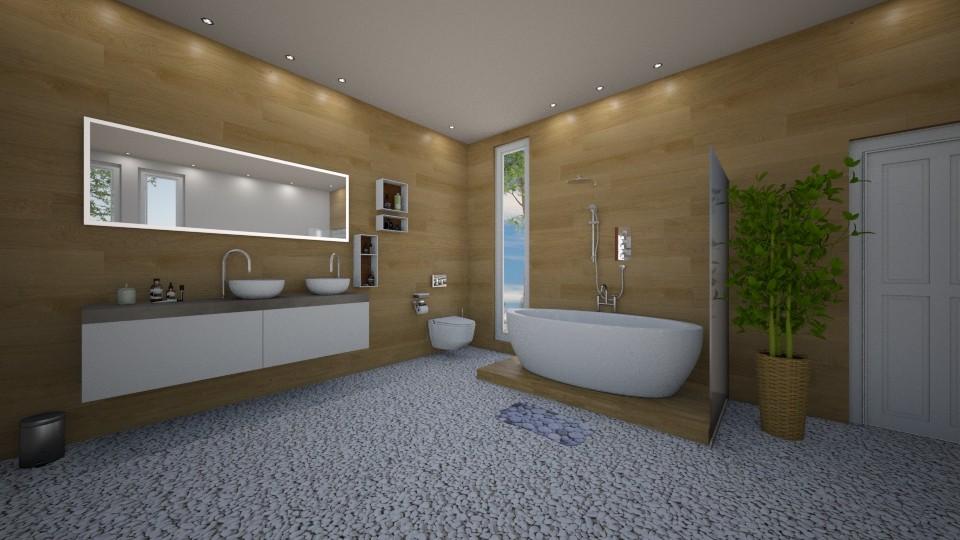 Bath - Bathroom - by evakiew96