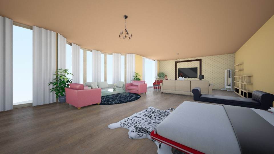 loulou - Living room - by louahdi abir
