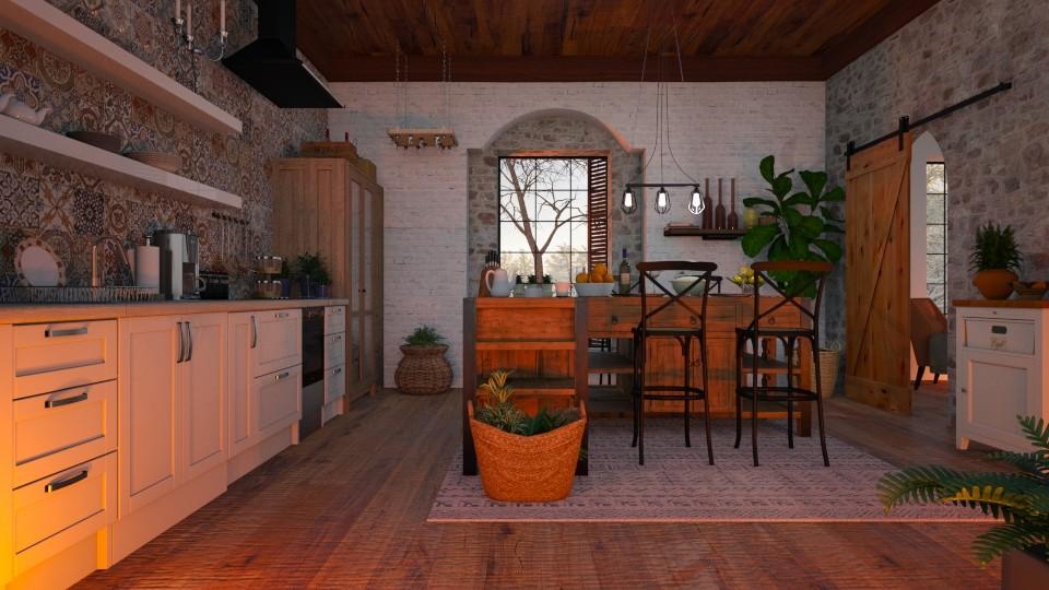 Rustic kitchen - by barnigondi