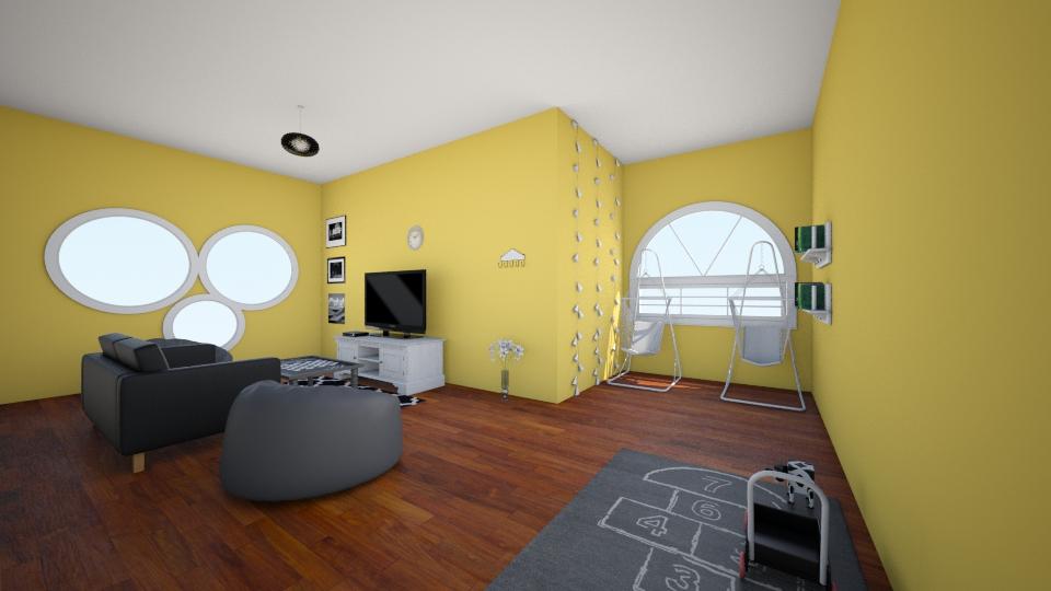 Dream Living Room - Living room - by xoxoroomxoxo