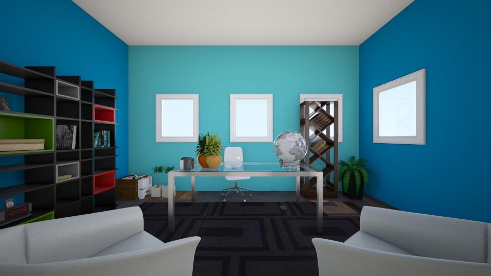 getaway island - Modern - Office - by CasuallyCrystalClear