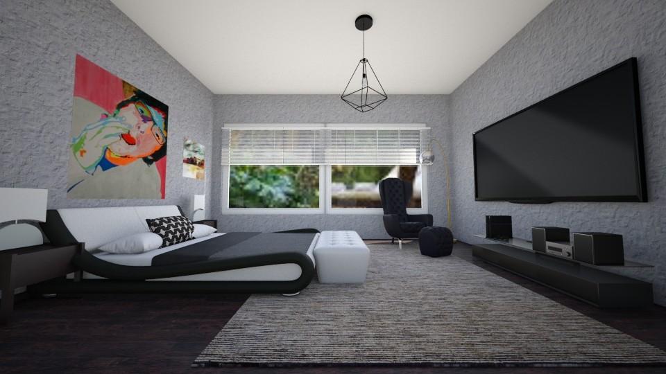 quarto de homem modern - by Tininha oliveira