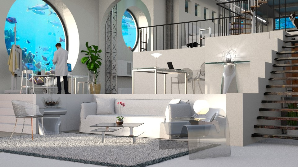 Sea bunker - Living room - by anchajaya