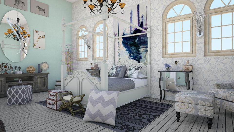 Grecia - Rustic - Bedroom - by IkkaHe