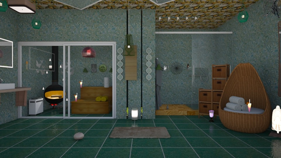 sauna 1 - by nat mi