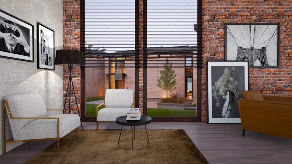 Harmony - Modern - Living room - by Valeria Nesterova