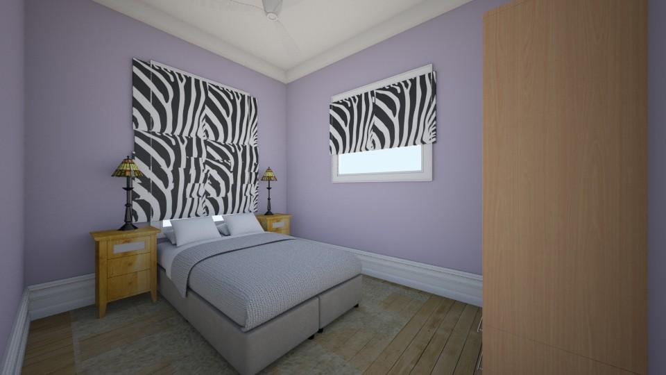 second room - Bedroom - by pamela Cowan