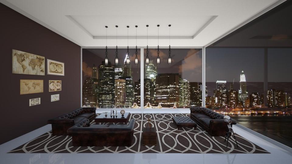 Corner apartment - by Timea Fischer