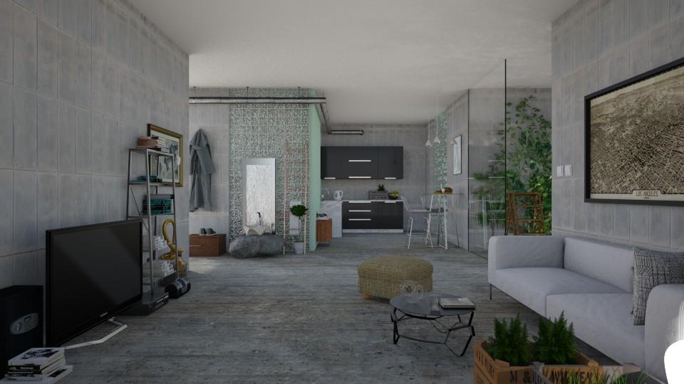 bunkeer - Living room - by penelopy