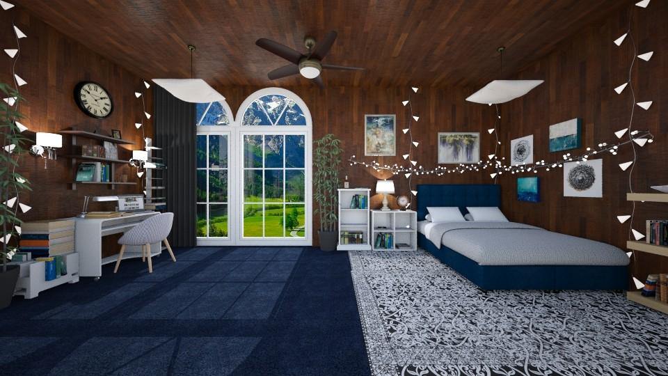 Fresh Air - Bedroom - by Sejuti Bala