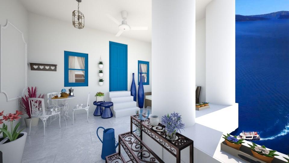 Summer house in Greece - Garden - by Szilvia94