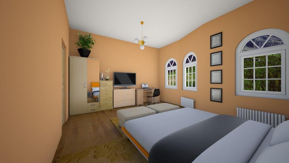 bedroom - Bedroom - by Berecz Viktor