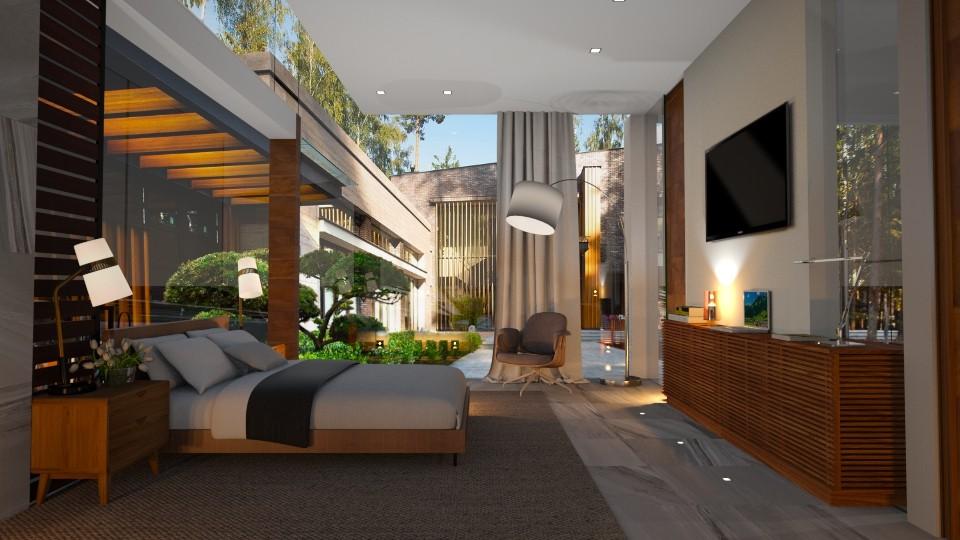 Modern Bedroom - Modern - Bedroom - by Valeria Nesterova