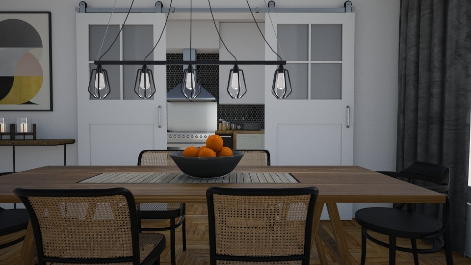 Barn doors - Dining room - by Tuija
