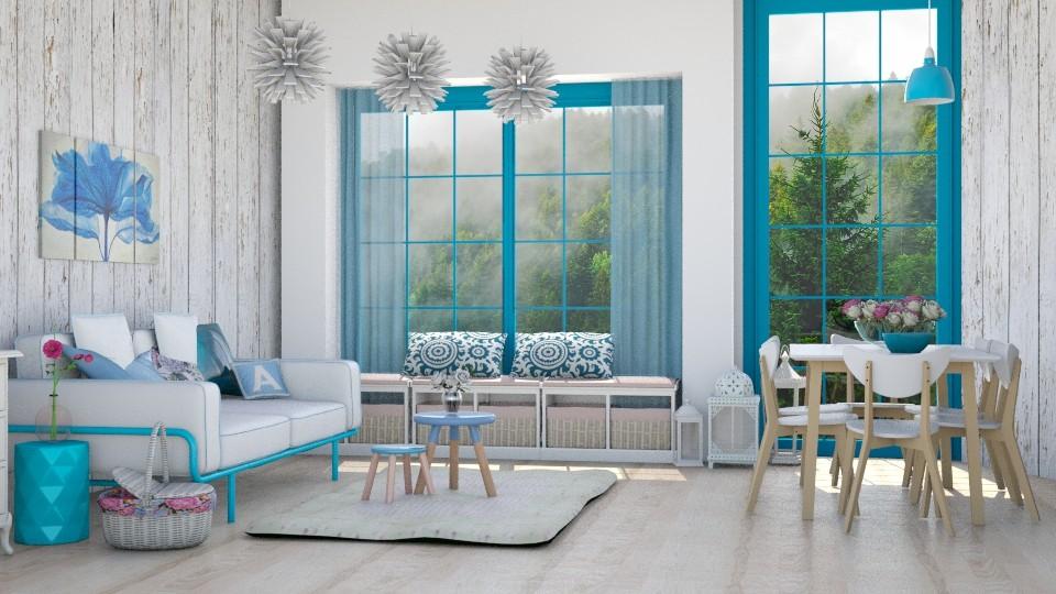 Caribbean - Living room - by Liu Kovac