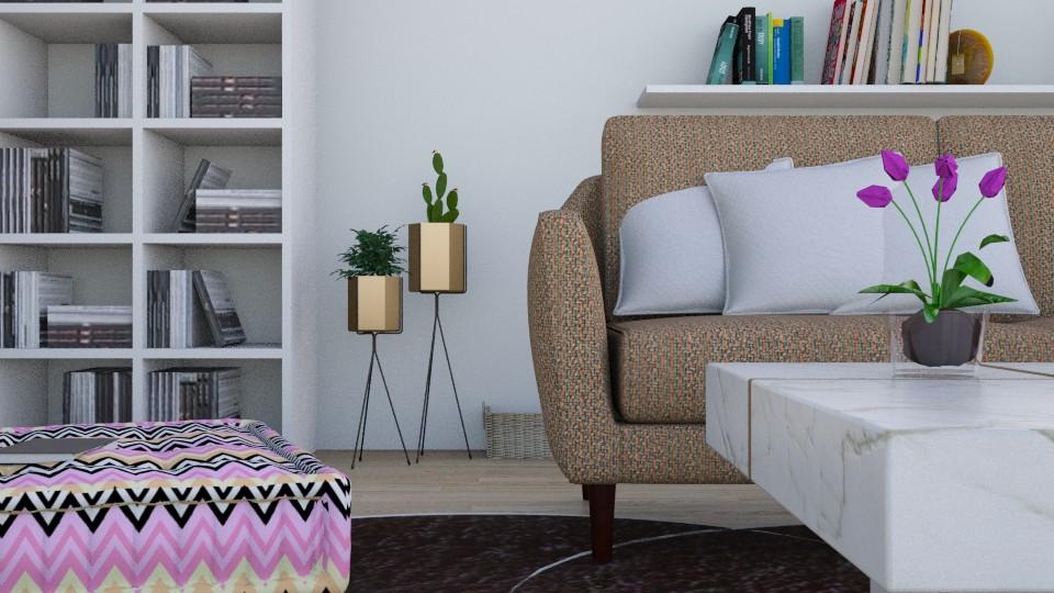 CloseUp - Modern - Living room - by Yana_Arsenyuk