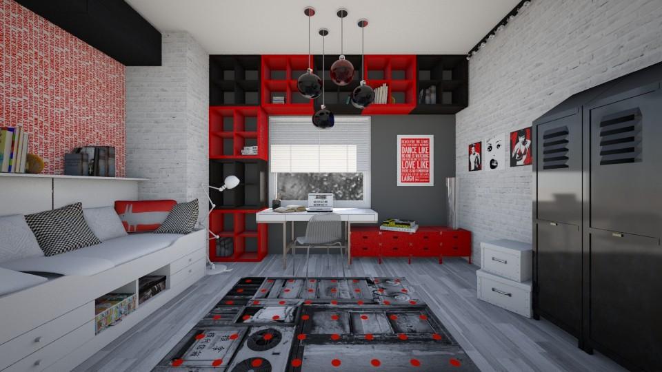 nast - Bedroom - by majlena95