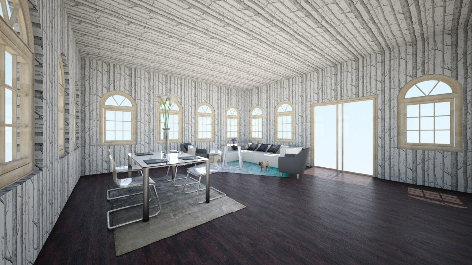 Forest Sky - Modern - Living room - by FEJ and GEB