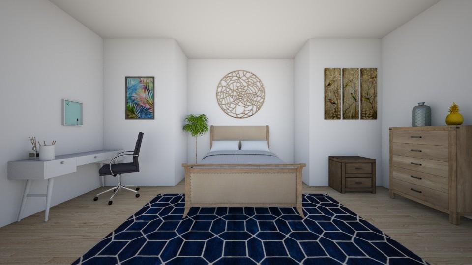 Spare Room2 - Modern - Bedroom - by Timtam876