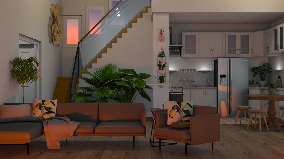 Ambient  - Feminine - Living room - by Kendal Peterson