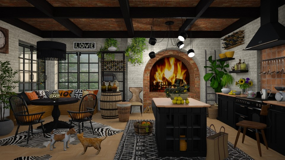 Bohemian Kitchen - by lydiaenderlebell