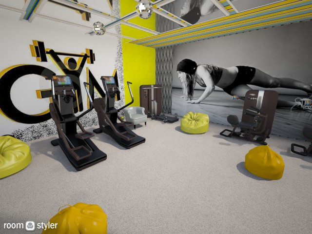Yellow Gym  - by tabb