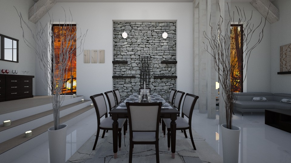 Dining Room - by ArtHousedeco