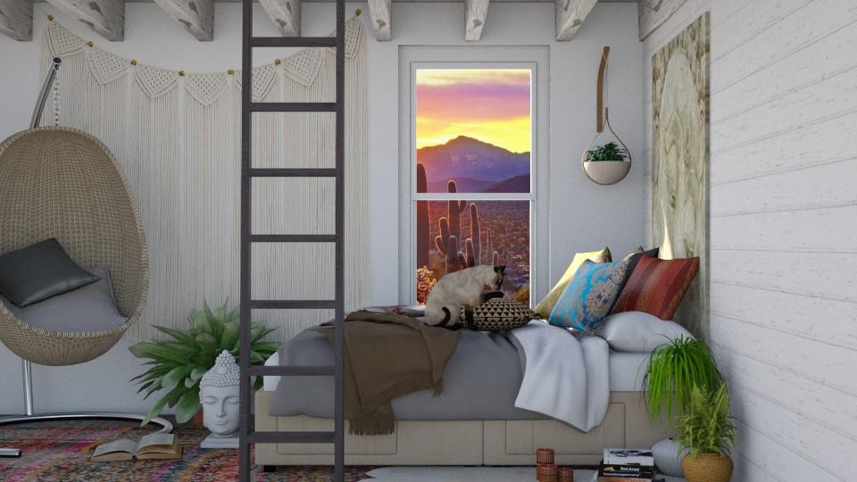 Bohemian - Bedroom - by lydiairenefritz