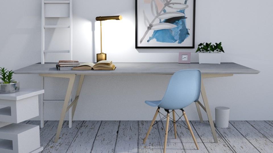 Simply Pastel - Office - by JoycePotato