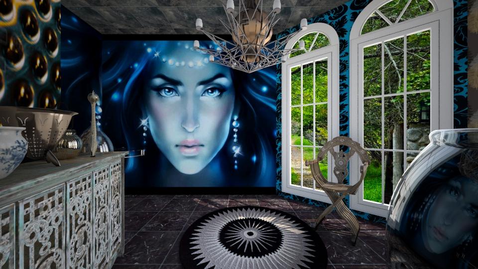 Casa de Bruxa Alquimico8 - Office - by Mariesse Paim