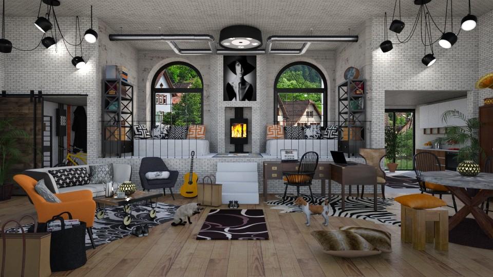 Student Warehouse Flat - by lydiaenderlebell