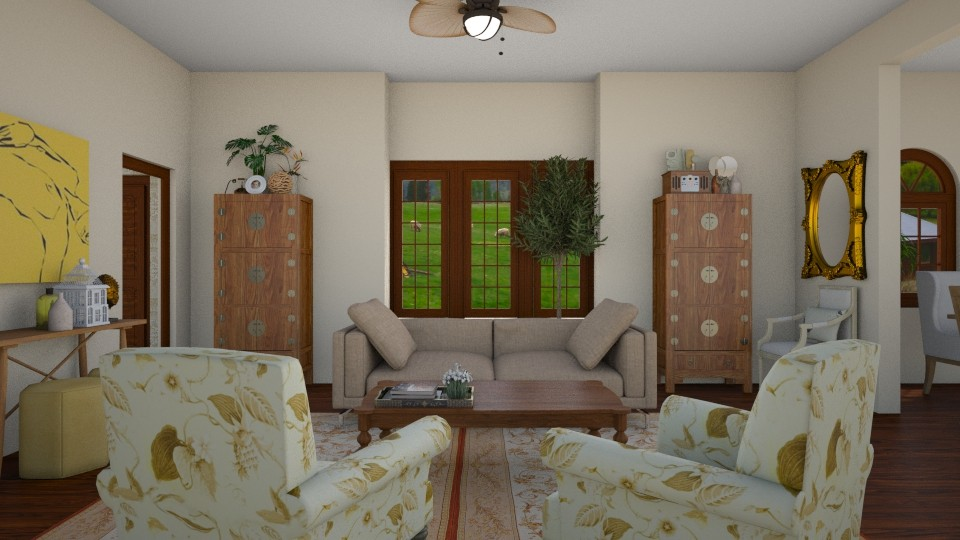 traveler - Classic - Living room - by rosej