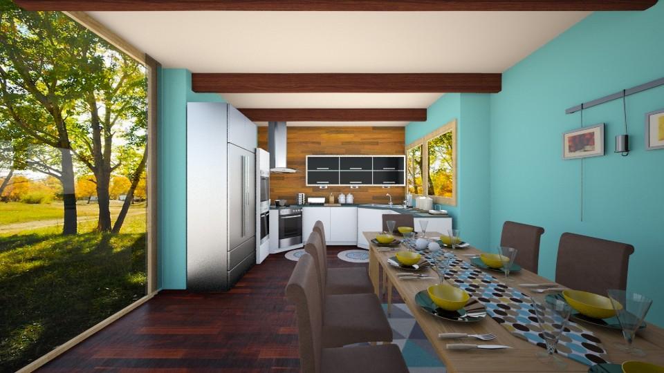 Wooden Blend - Kitchen - by Shyista the Fashionista