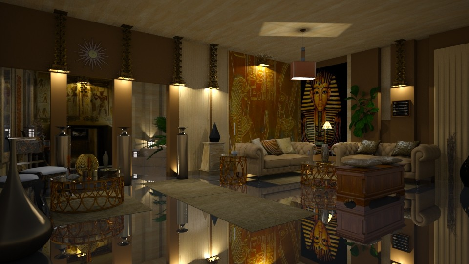 Egyptian Gold - Living room - by marocco