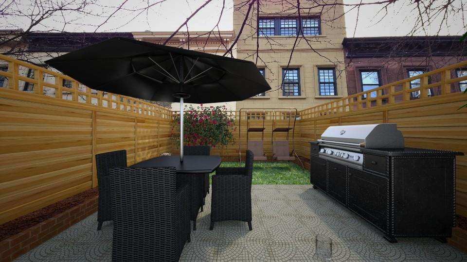 Brooklyn Garden - Classic - Garden - by UloveTashi Designs